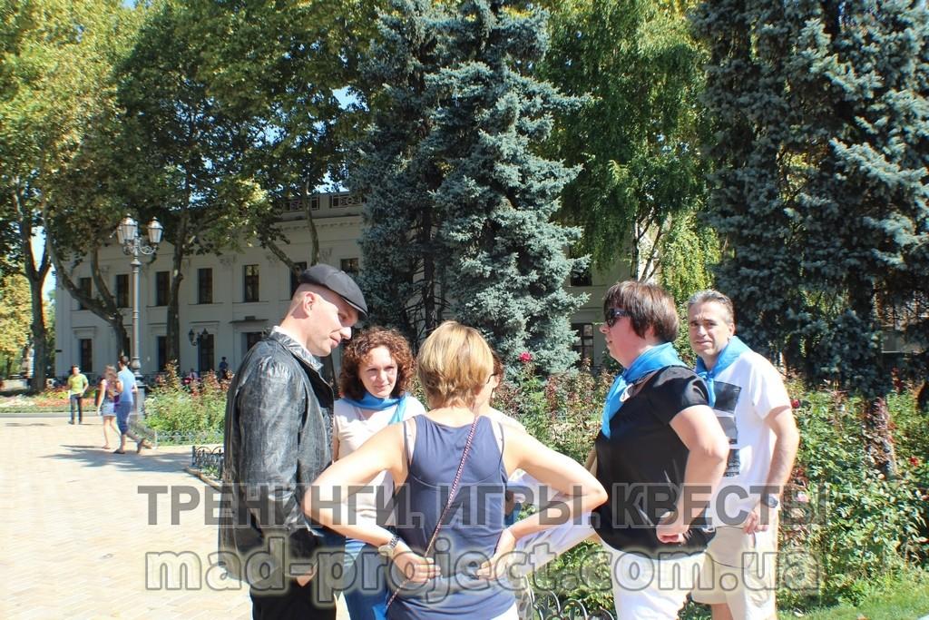 Тематический тимбилдинг в Одессе