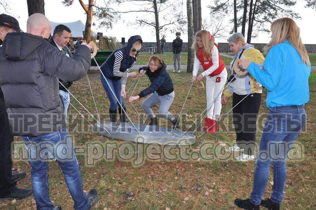 Организация тимбилдинга на природе в Киеве
