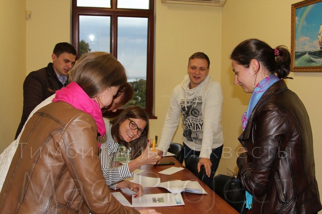 Тимбилдинг в офисе Одесса