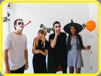 Тимбилдинг на Хеллоуин