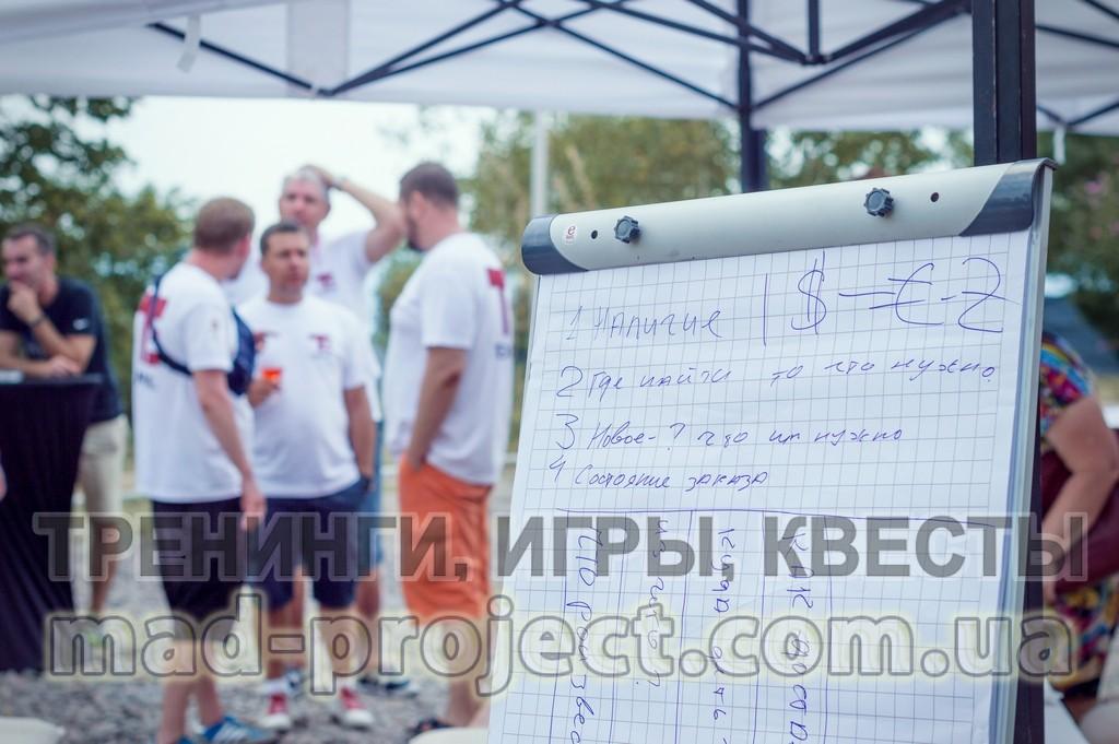 Командообразование в Киеве